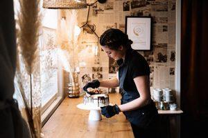 Kut Valiaikatarjoilu mascarpone-juustokakku